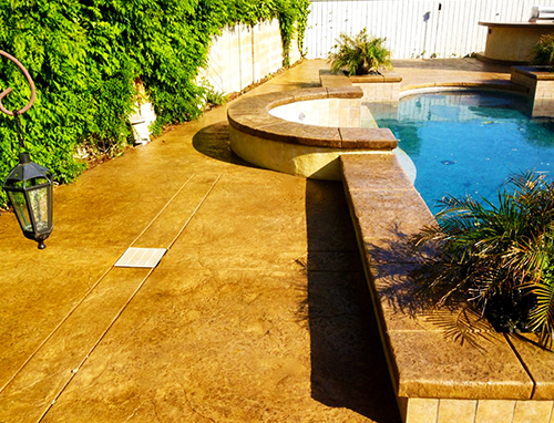 Stamped Concrete Patio Folsom